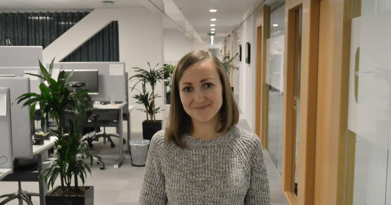 Vladlena hittade första jobbet i Sverige med Lernia.